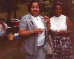 1980 Williamsport, PA Mary Mills and Kizzy Smith
