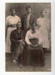 Jacob and Jane (Green) Clifford; Virginia, Leonard, Myrtle Clifford
